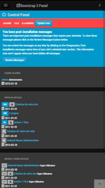 Free responsive administrator theme for joomla 3 virtuemart joomla admin template bs light 2 maxwellsz