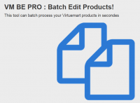 Product Batch processor & editor for Virtuemart 2 & virtuemart 3 Shops