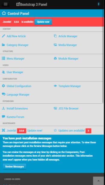 joomla administrator templates - free administrator theme for joomla 3 studio 42 joomla
